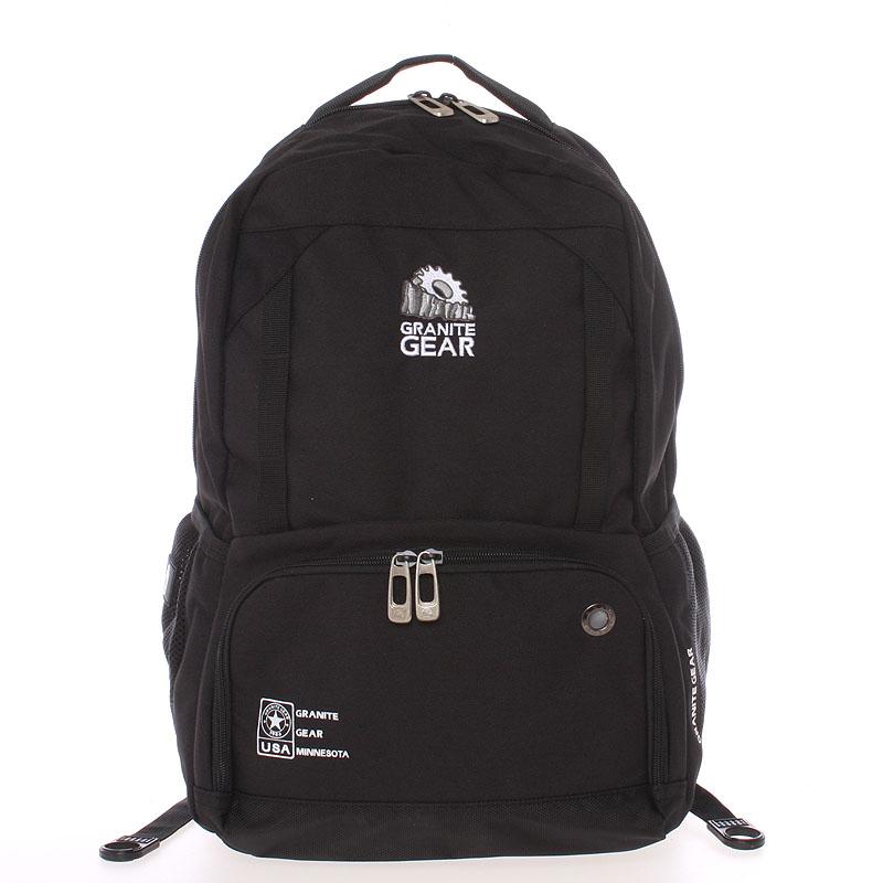 Univerzální cestovní a školní černý batoh - Granite Gear 7009