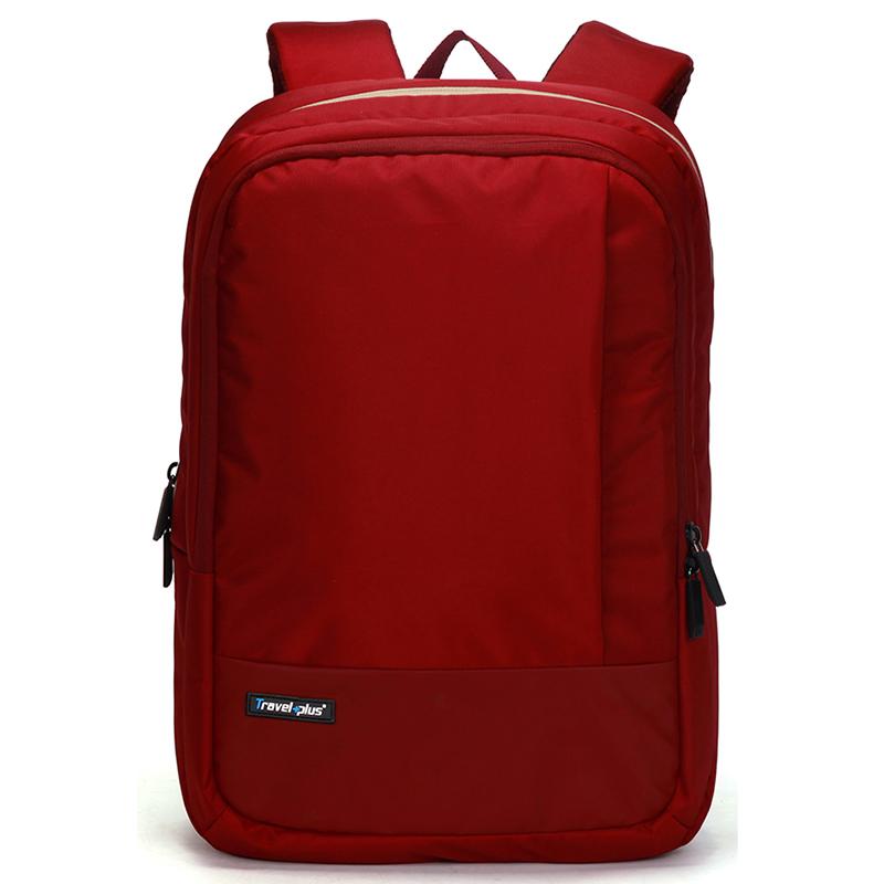 Kvalitní školní a cestovní batoh červený - Travel plus 0100
