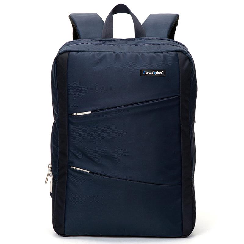 Originální cestovní a školní tmavě modrý batoh - Travel plus 0620