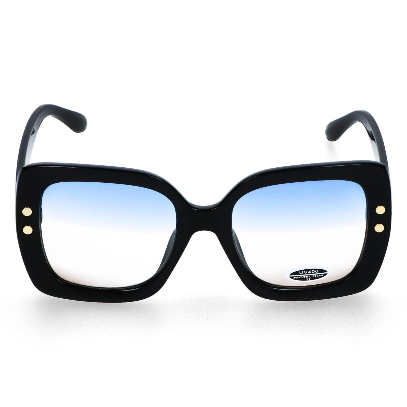 Dámské sluneční brýle černé - S1013 černá