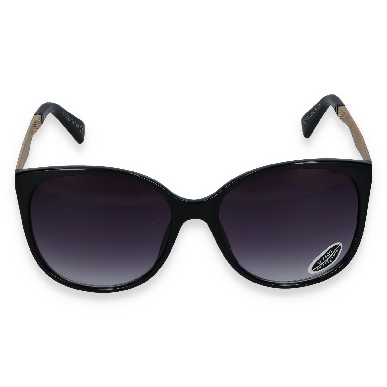Dámské sluneční brýle černé - S2405 černá