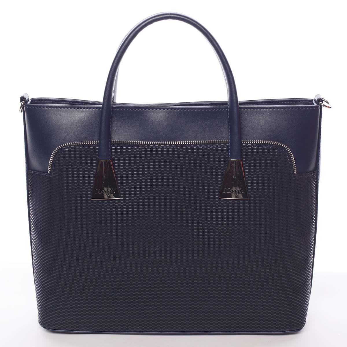 Dámská luxusní kabelka modrá - Maggio Landry modrá