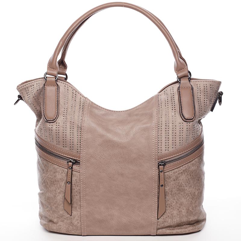 Jedinečná dámská kabelka khaki - MARIA C Aleigha Khaki
