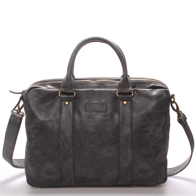 Pánská taška brašna přes rameno černá - Enrico Benetti 4539 černá