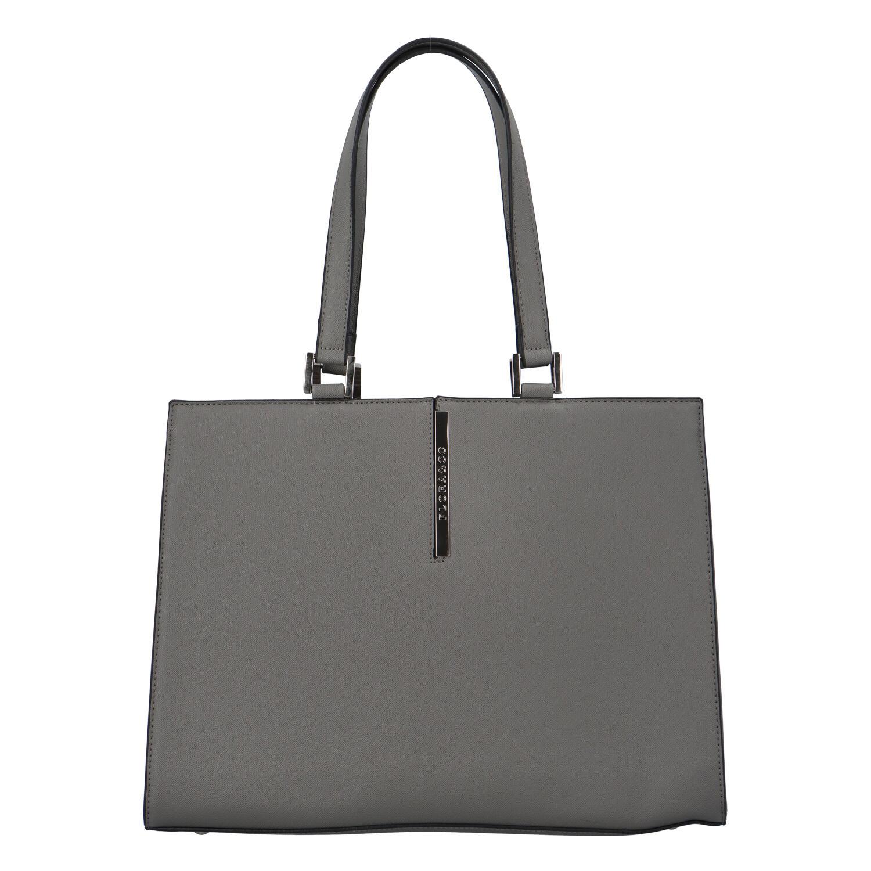 Levně Dámská módní kabelka přes rameno šedá - FLORA&CO Manan