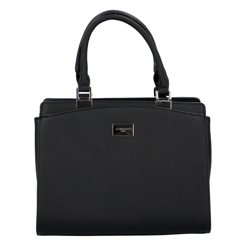 Dámská elegantní kabelka do ruky černá - FLORA&CO Stanleily černá