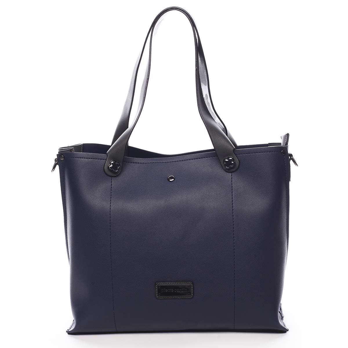 Dámská kabelka přes rameno tmavě modrá - Pierre Cardin Ellie modrá