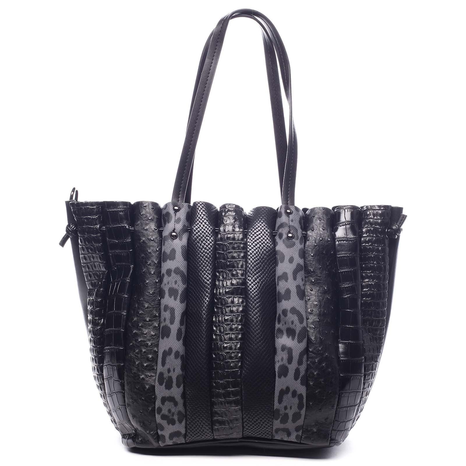 Dámská kabelka přes rameno černá - Dudlin Tola černá