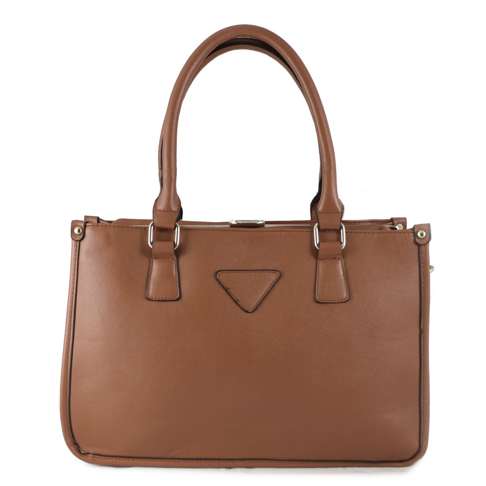 427085985e Hnědá kabelka HT fashion HT12702 styl Prada - Kabea.cz