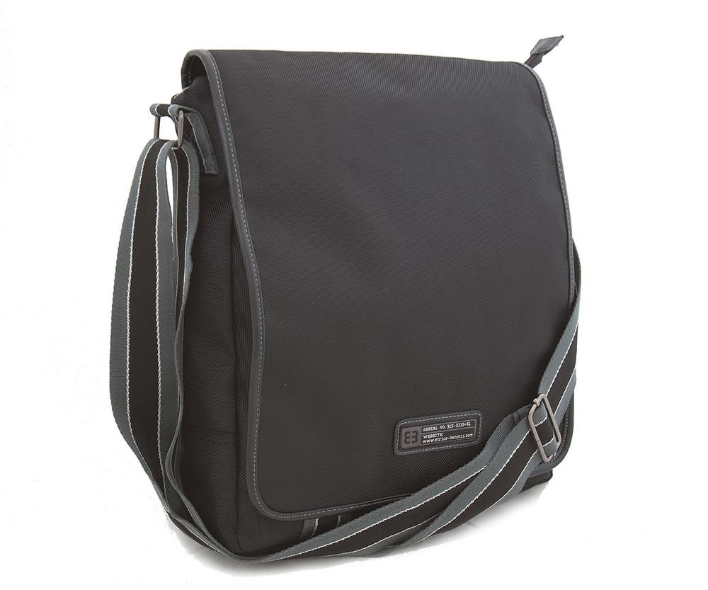 f0c3bc28af Černá pánská taška přes rameno Enrico Benetti 54217 - Kabea.cz