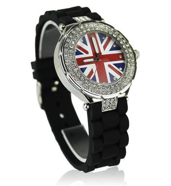Černé hodinky Fashion Only W009 - Kabea.cz