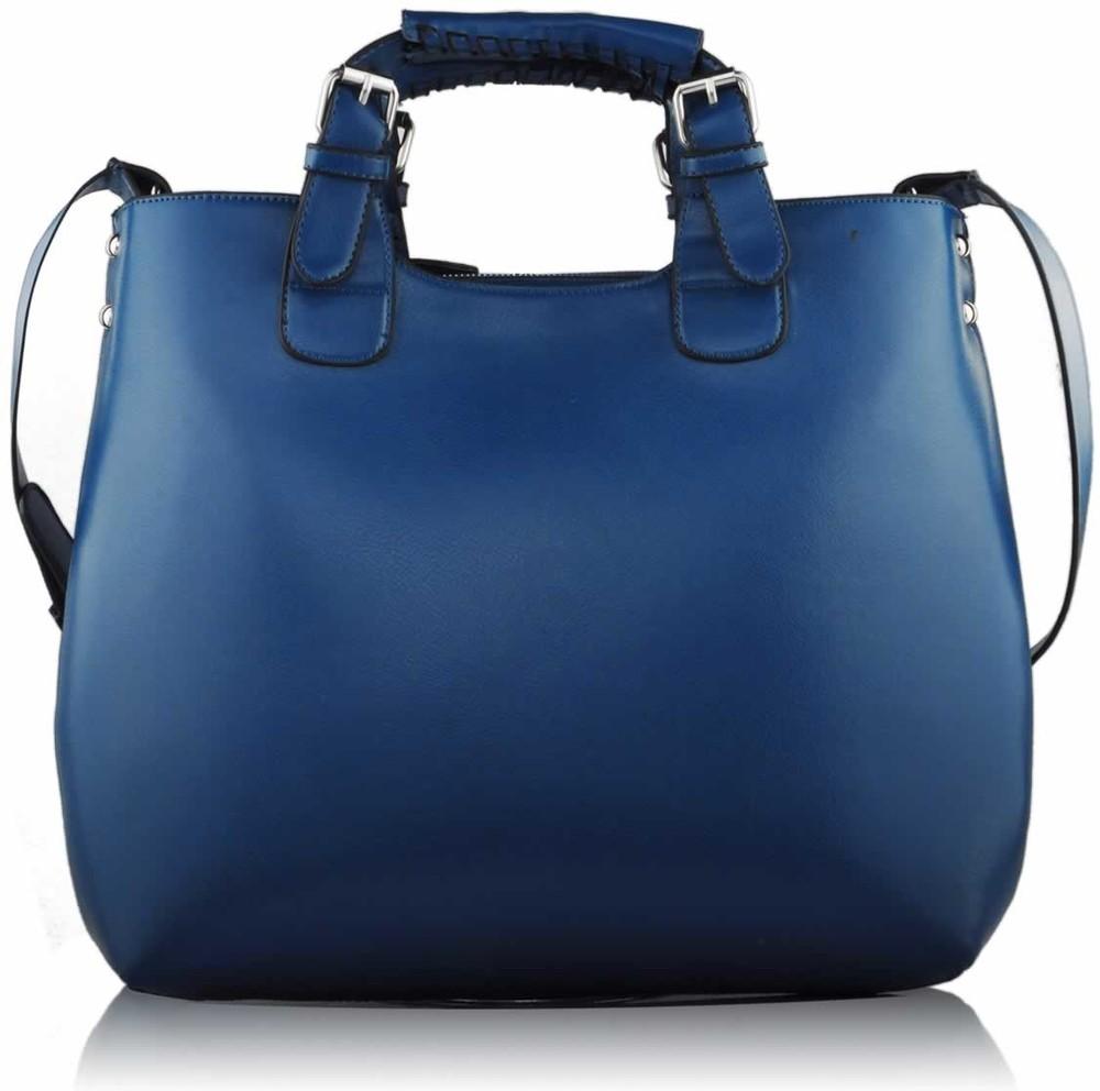 Tmavě-modrá kabelka LS fashion LS00267 - Kabea.cz c575bb4b83