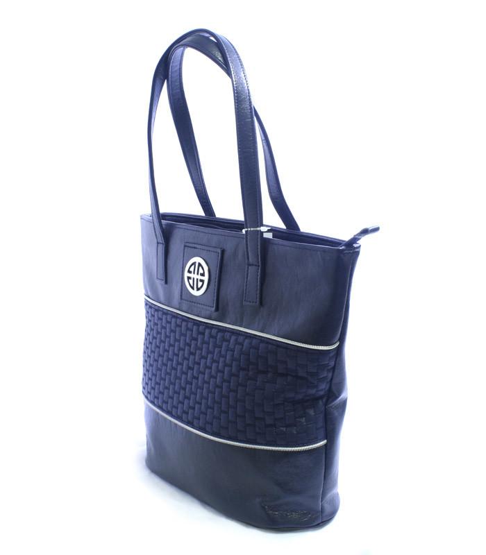 Tmavě-modrá kabelka přes rameno DAMA 1552 - Kabea.cz 26bc3c9a33