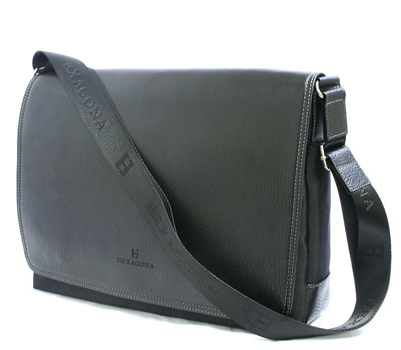 Černá pánská taška přes rameno Hexagona 939601 - Kabea.cz c5cbef40e94