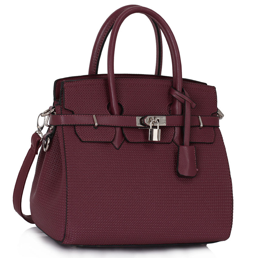 Fialová kabelka LS fashion LS00140 - Kabea.cz c487ef01a0f