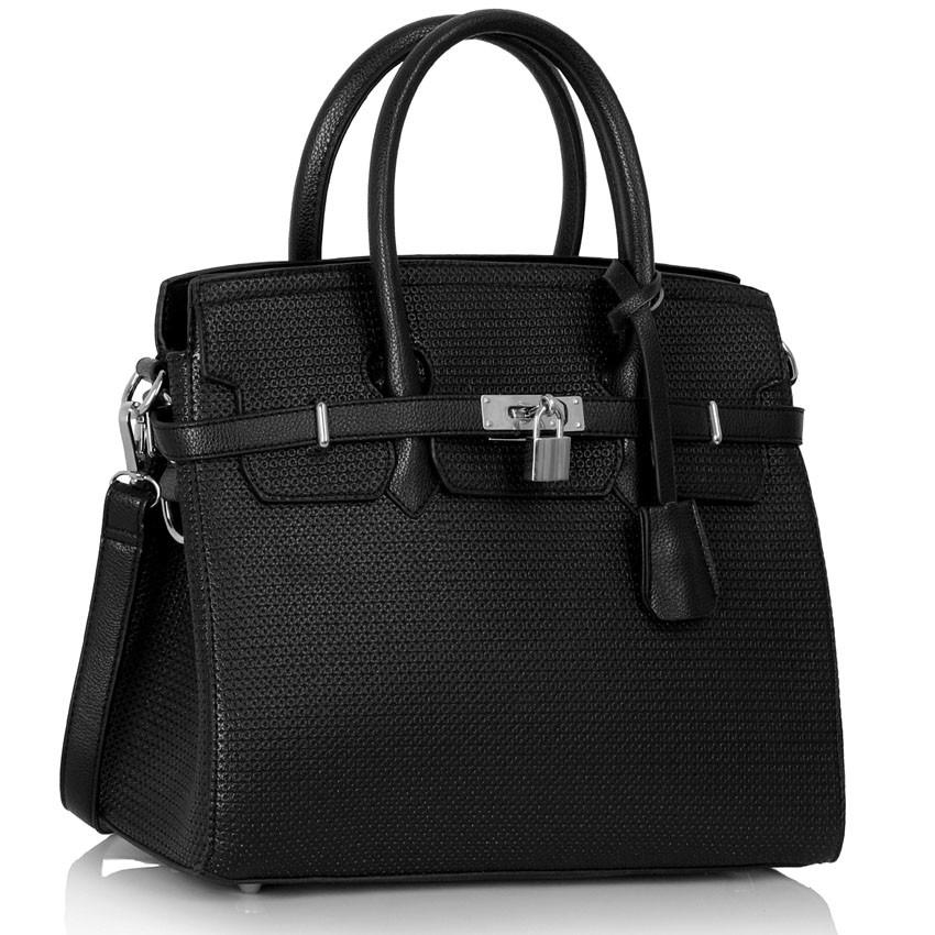 Černá kabelka LS fashion LS00140 - Kabea.cz 8139ba150c8
