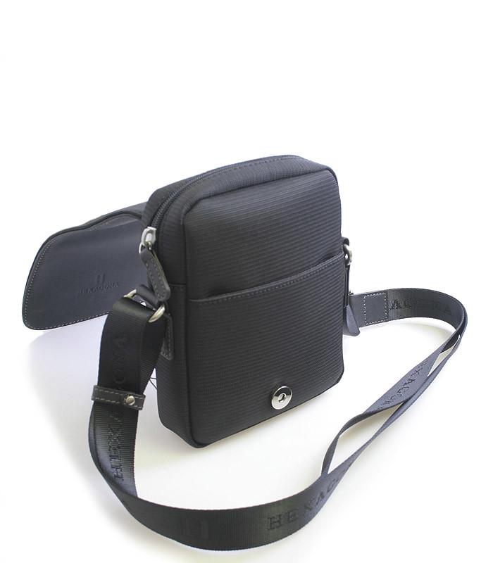 ... Luxusní pánská kožená kabelka přes rameno černá - Hexagona Filippo ... 73d8f34221d