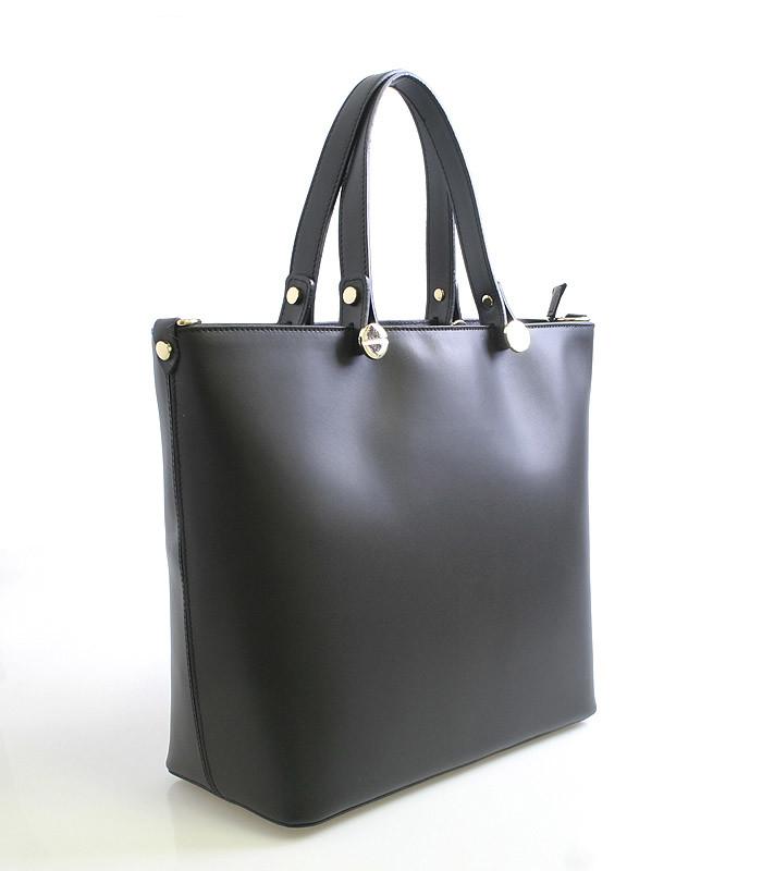 Dámská kabelka černá kožená - ItalY Elza - Kabea.cz 4425721bf40