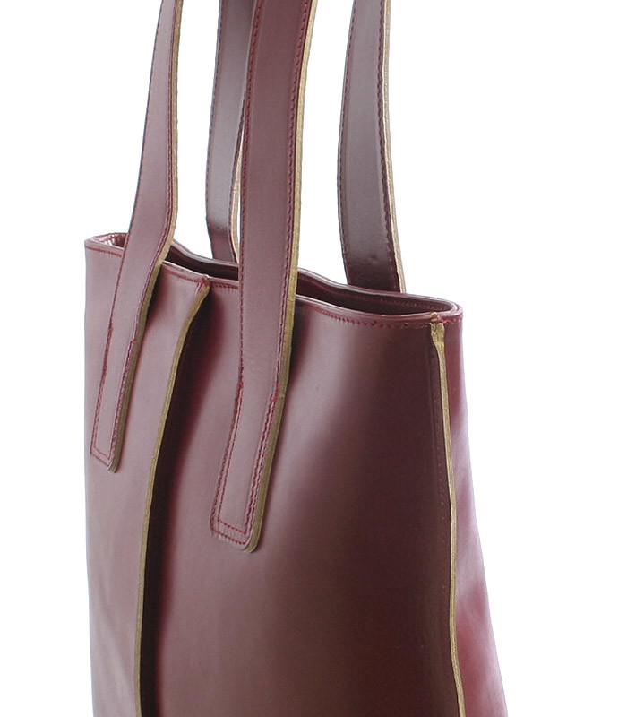 Červená kožená kabelka přes rameno ItalY Sabrina - Kabea.cz 06ac8b65e2