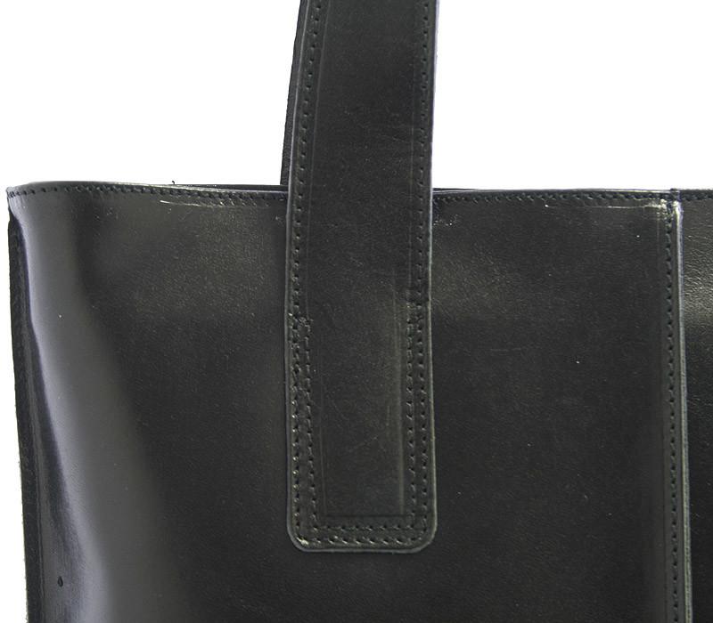 Černá kožená kabelka přes rameno ItalY Sabrina - Kabea.cz f7aee4edac