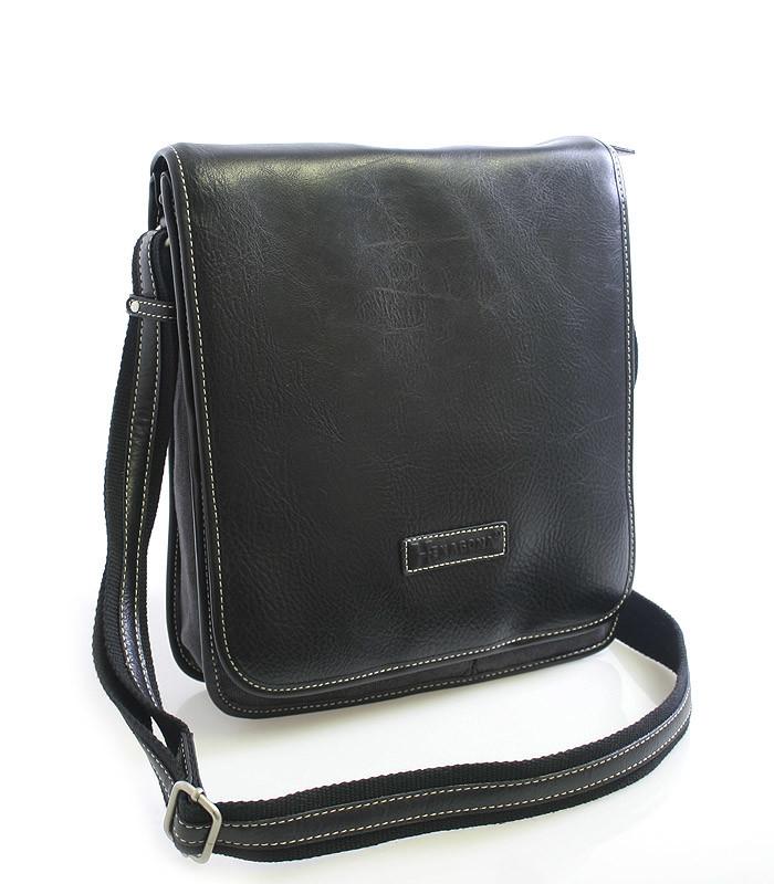 46957d969 Černo-šedá taška přes rameno Hexagona 409110 - Kabea.cz
