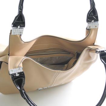 Meruňková elegantní kabelka přes rameno Silvia Rosa Dolly - Kabea ...