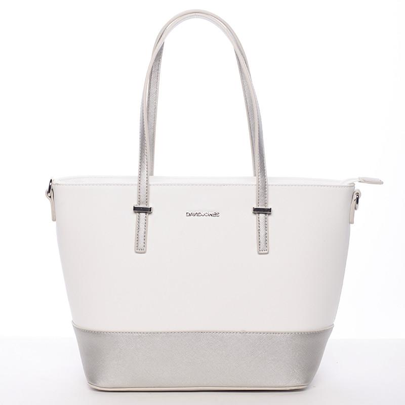 Bílo stříbrná kabelka David Jones Rika - Kabea.cz 817704a67c6
