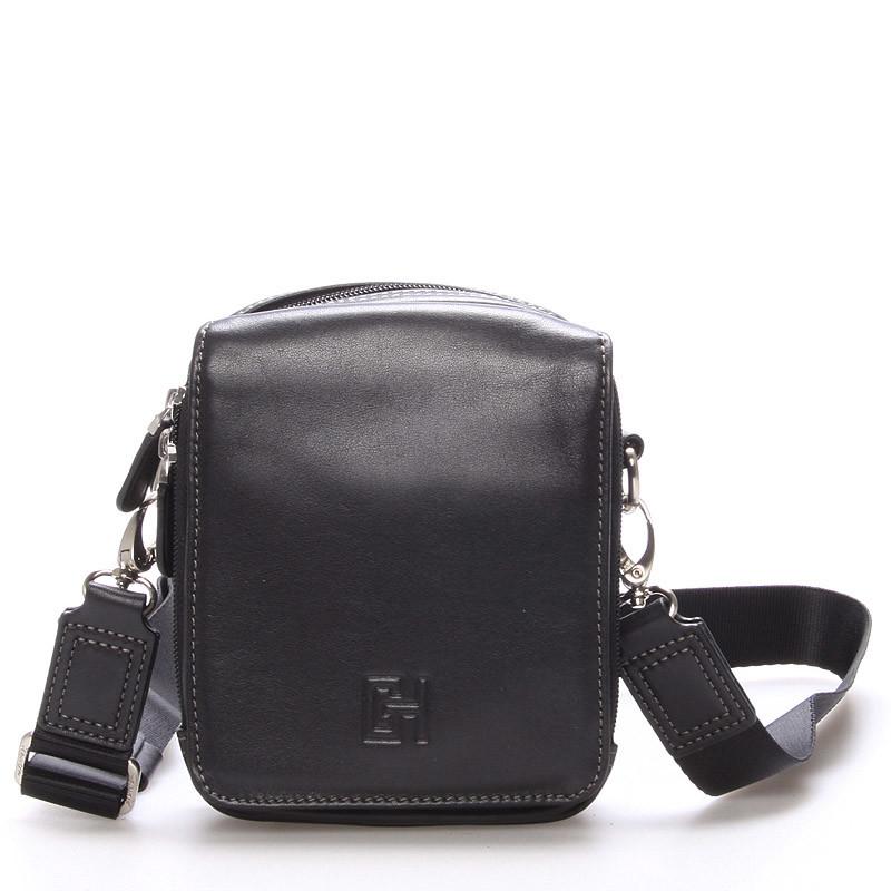 603fc79693 Pánská taška přes rameno na doklady černá - Gerard Henon Delrico ...
