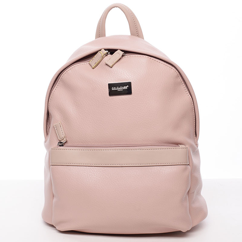 Dámský módní batůžek růžový - David Jones Noelle - Kabea.cz 6c0bd13493