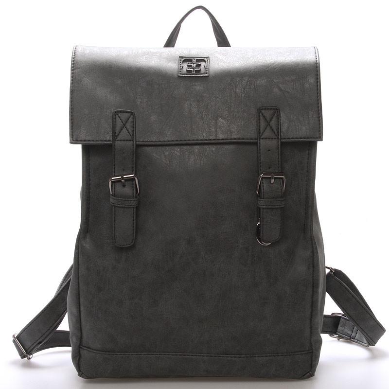 Módní stylový batoh černý - Enrico Benetti Travers - Kabea.cz 21c80710b9