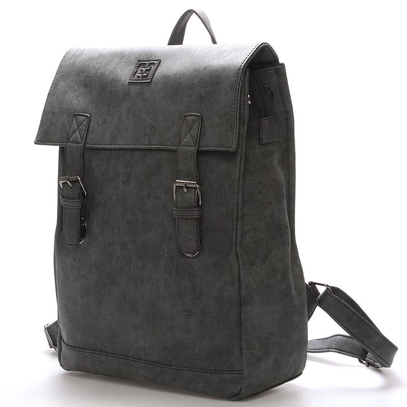 e695e7febd3 Módní stylový batoh černý - Enrico Benetti Travers - Kabea.cz