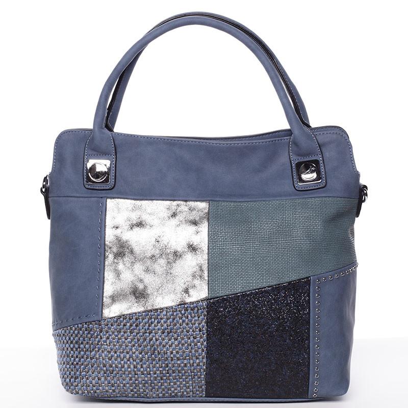Módní dámská kabelka do ruky modrá - MARIA C Lise - Kabea.cz fe756eca794