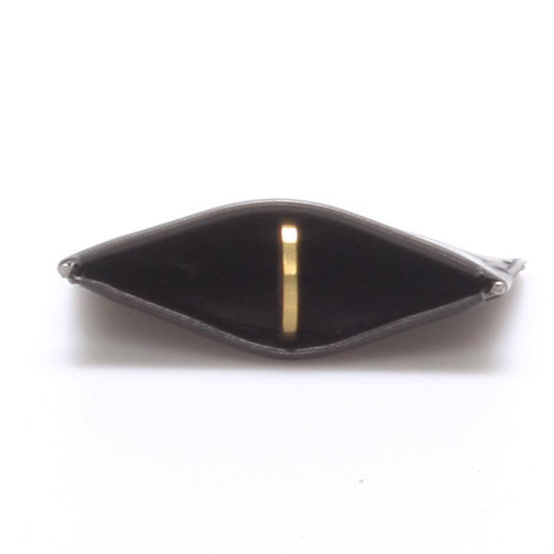 7de0d78ffc0 Kožená peněženka na mince černá - Delami MIMI - Kabea.cz