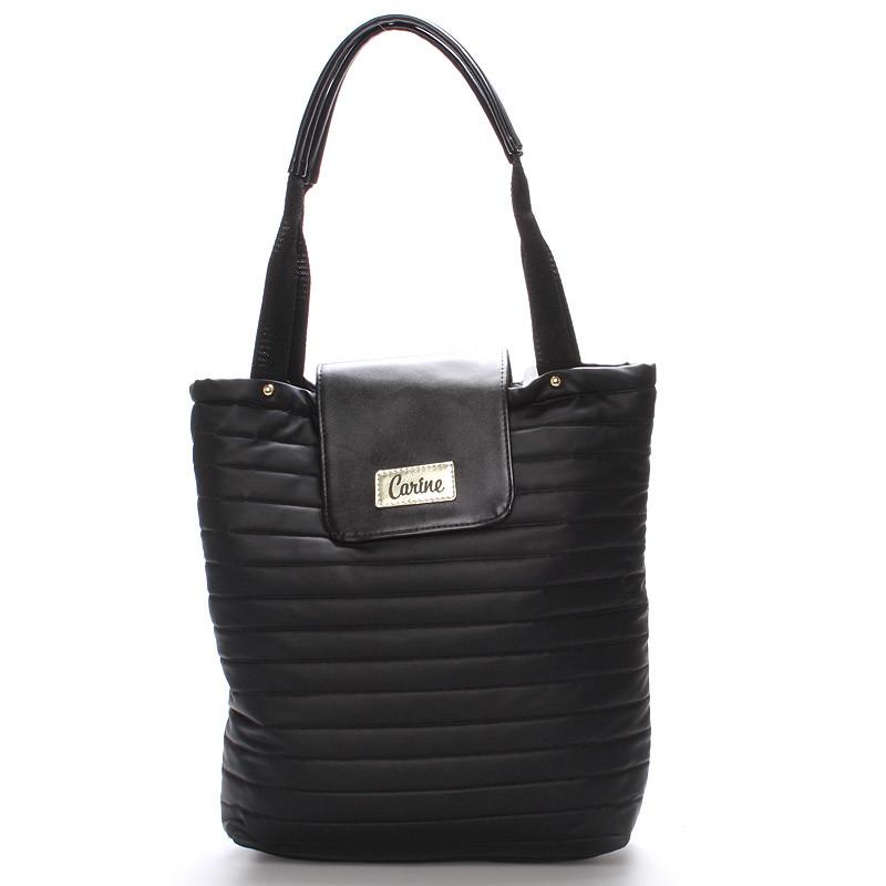 Dámská originální kabelka černá - Carine Wichita - Kabea.cz e0457bb1564