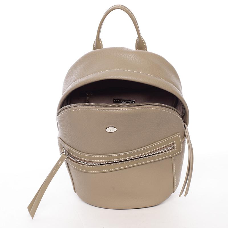 3535fef450 Moderní malý batůžek pro ženy khaki - David Jones Akas - Kabea.cz