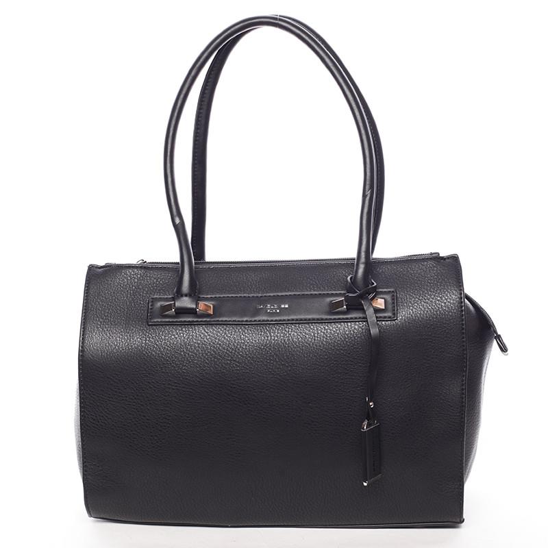 88b1da1cff0 Elegantní dámská kabelka přes rameno černá - David Jones Angie ...