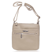 Dámská khaki crossbody kabelka - David Jones Chilasha