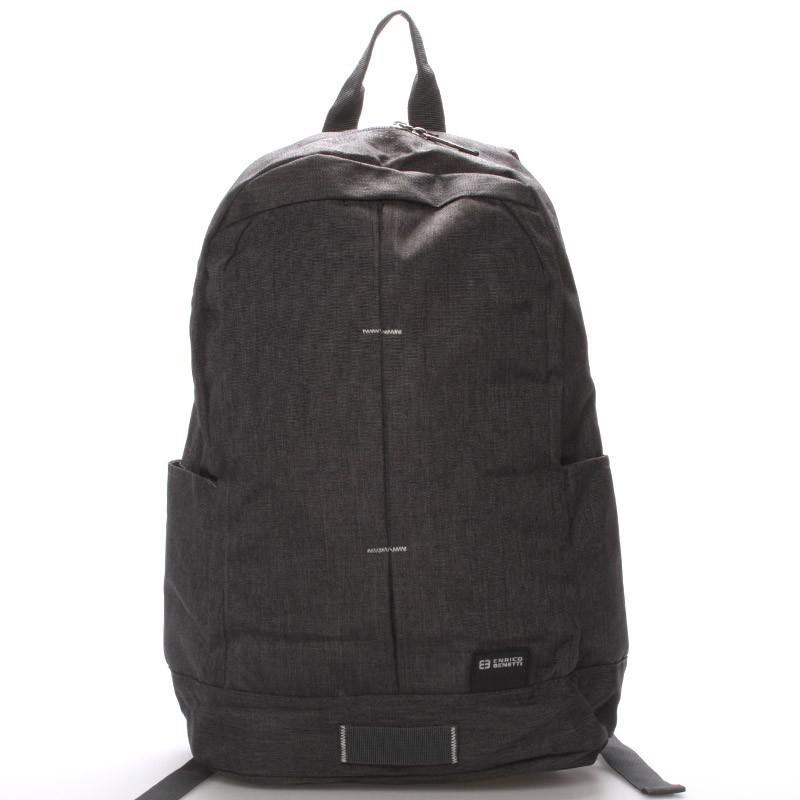 3857e06df18 Školní jednoduchý šedý batoh - Enrico Benetti Achilleas - Kabea.cz