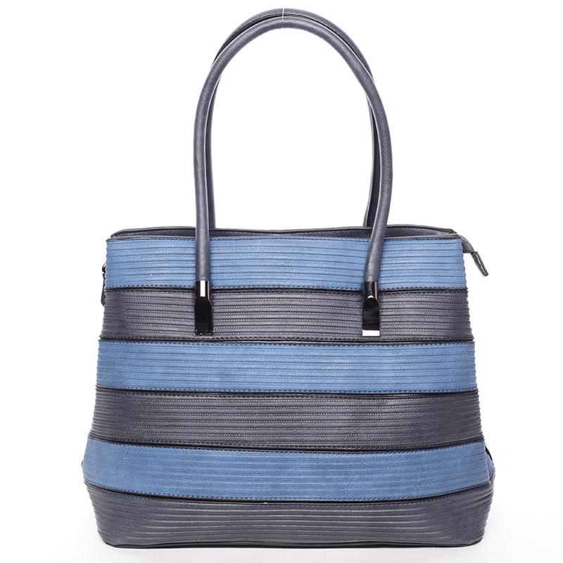 b6039ddc6a6 Módní dámská kabelka přes rameno tmavě modrá - MARIA C Elaina - Kabea.cz