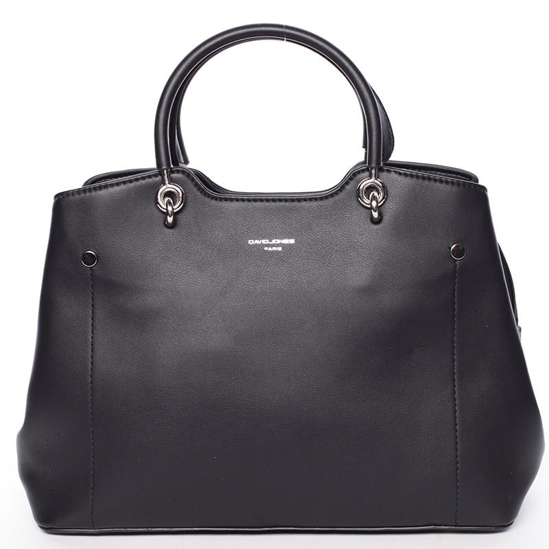 e747db2ddff7 Trendy elegantní černá dámská kabelka - David Jones Stefania - Kabea.cz