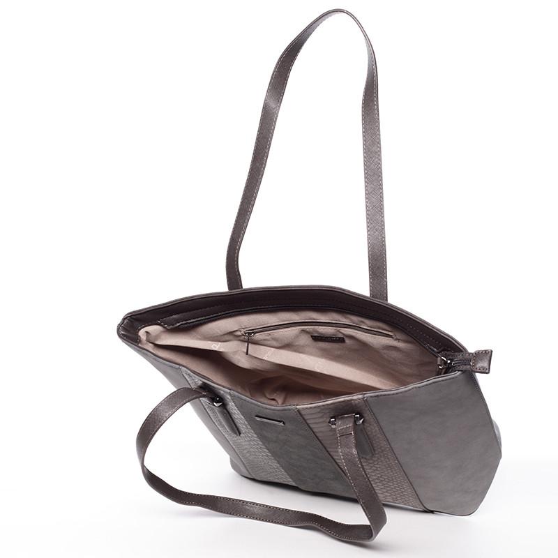 Originální šedá kabelka přes rameno - David Jones Leighton - Kabea.cz 835678d42c1