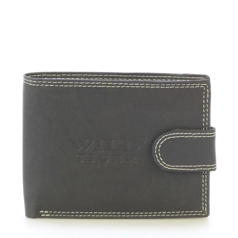 7a46850108b Pánská kožená peněženka černá - WILD Gryphon - Kabea.cz