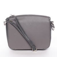 Trendy crossbody kabelka šedá - David Jones Talia