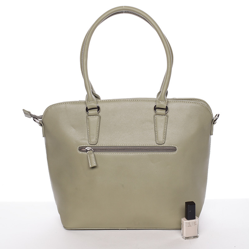 ... Elegantní dámská olivová kabelka přes rameno - David Jones Lerisai ... 3847a0ba289
