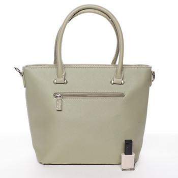 ... Módní dámská kabelka do ruky olivová saffiano - David Jones Klarisa ... 78e53881452