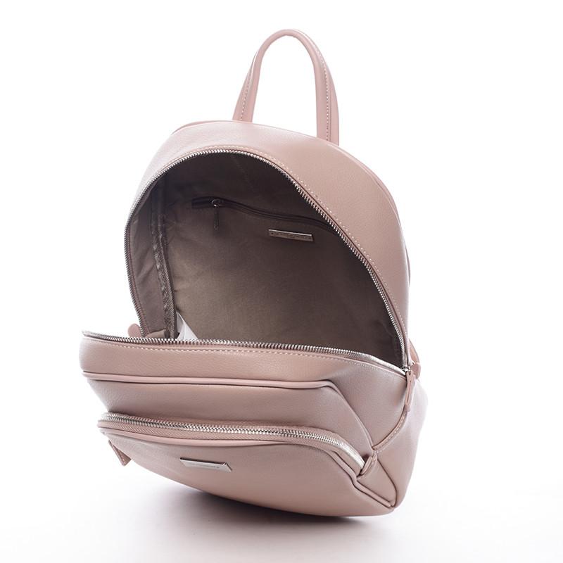 ad7f6c8568d Dámský měkký městský batoh růžový - David Jones Beatrice - Kabea.cz