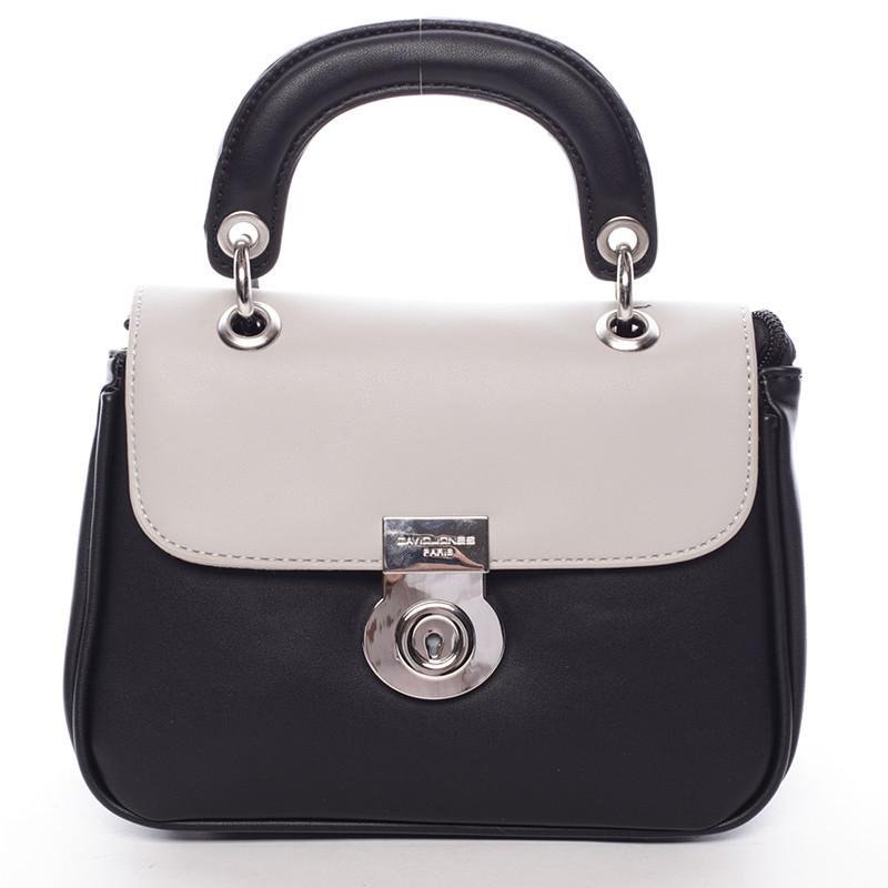 Originální černo šedá dámská kabelka do ruky - David Jones Latona ... 9ca57e3269
