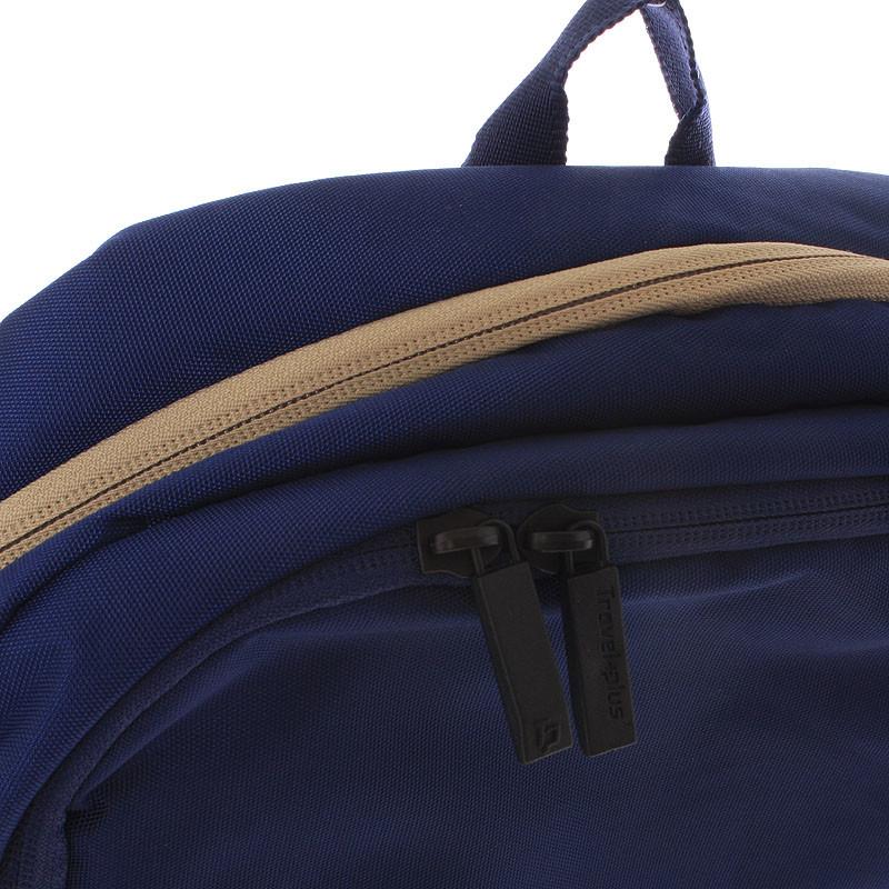 Kvalitní školní a cestovní batoh modrý - Travel plus 0100 - Kabea.cz 79ddb9a54c