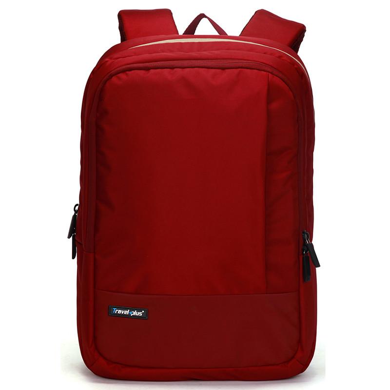 Kvalitní školní a cestovní batoh červený - Travel plus 0100 - Kabea.cz ee4d8df095