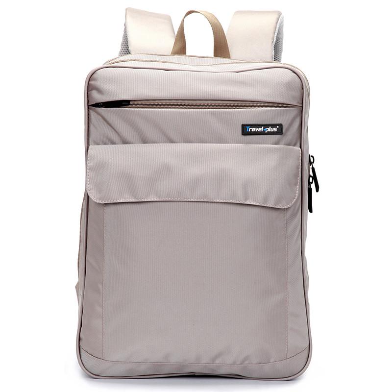 acacb5e2985 Béžový školní a cestovní batoh - Travel plus 0127 - Kabea.cz